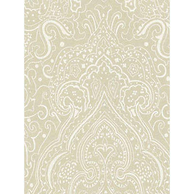 Osborne & Little Vaujours Wallpaper Linen / White, W6014-05 £77.00 @ John Lewis & Partners