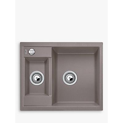 Blanco Metra 6 1.5 Bowl Inset Composite Granite Kitchen Sink Tartufo £465.00 @ John Lewis & Partners
