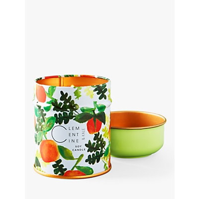 Anthropologie Clementine Scented Tin Candle, 170g  £16.00 @ John Lewis & Partners