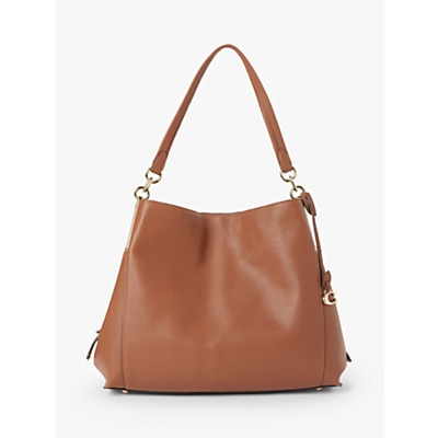 Coach Dalton 31 Leather Shoulder Bag 1941 Saddle £316.00 @ John Lewis & Partners