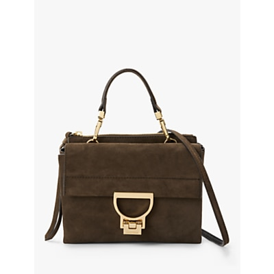 Coccinelle Artellis Iconic Suede Grab Bag Brown £270.00 @ John Lewis & Partners