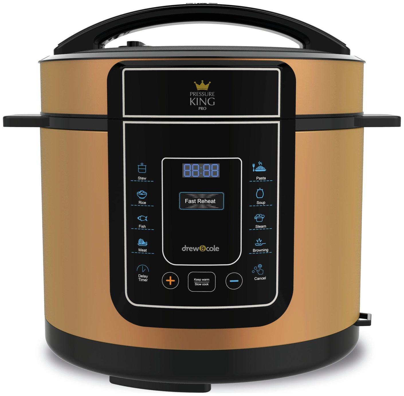 Pressure King Pro – Copper – Pressure Cooker £49.99 @ Argos