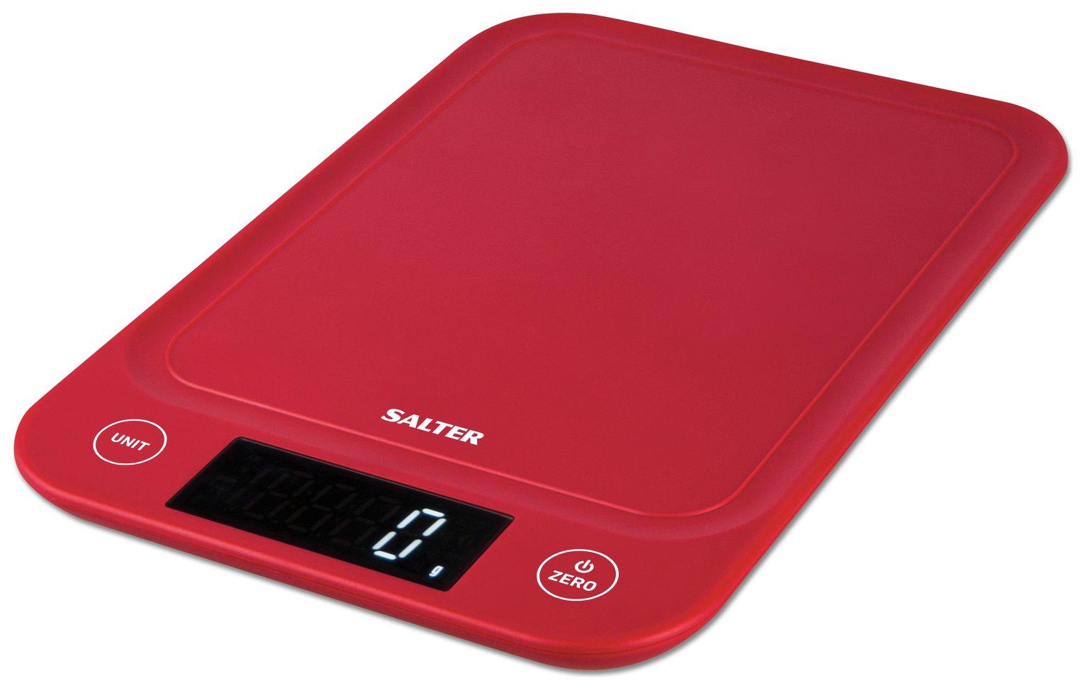 Salter Slim 5kg Kitchen Scale – Red £10.50 @ Argos