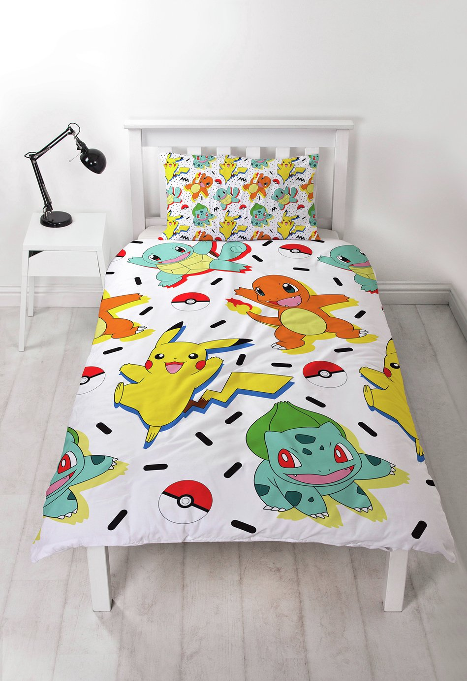 Pokemon Bedding Set – Single £10.99 @ Argos