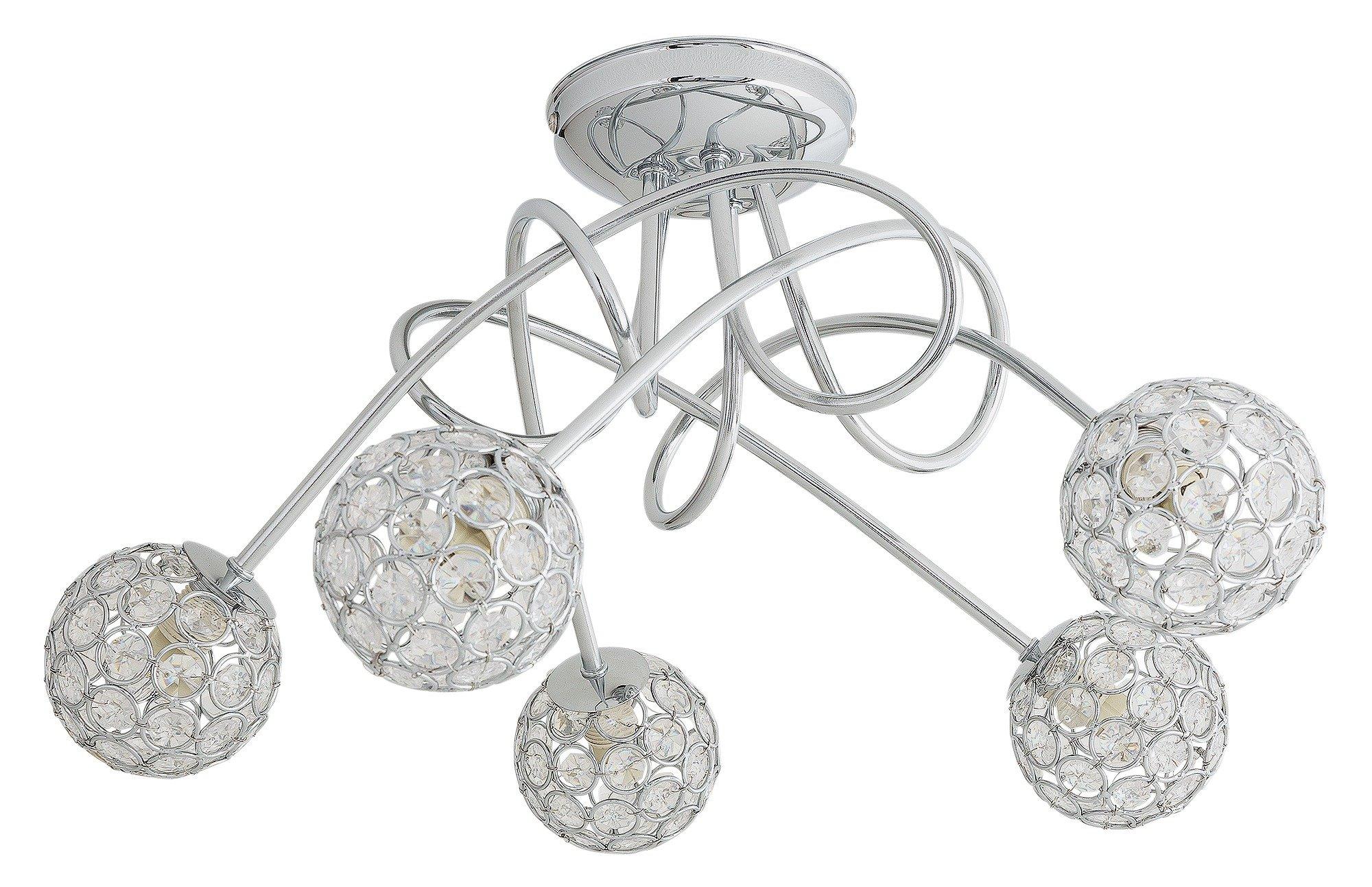 Argos Home – Amelia 5 Light Beaded Globes Ceiling Light £33.33 @ Argos
