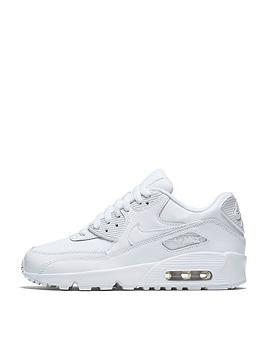 Nike Junior Air Max 90 Leather – White £70.00 @ Very