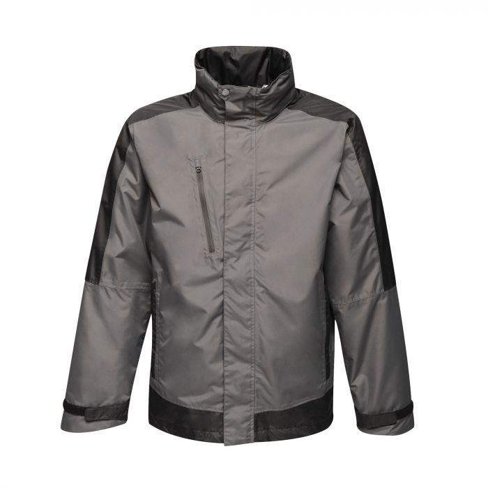 Men's Contrast Waterproof Shell Jacket Seal Grey Black £31.95 @ Regatta