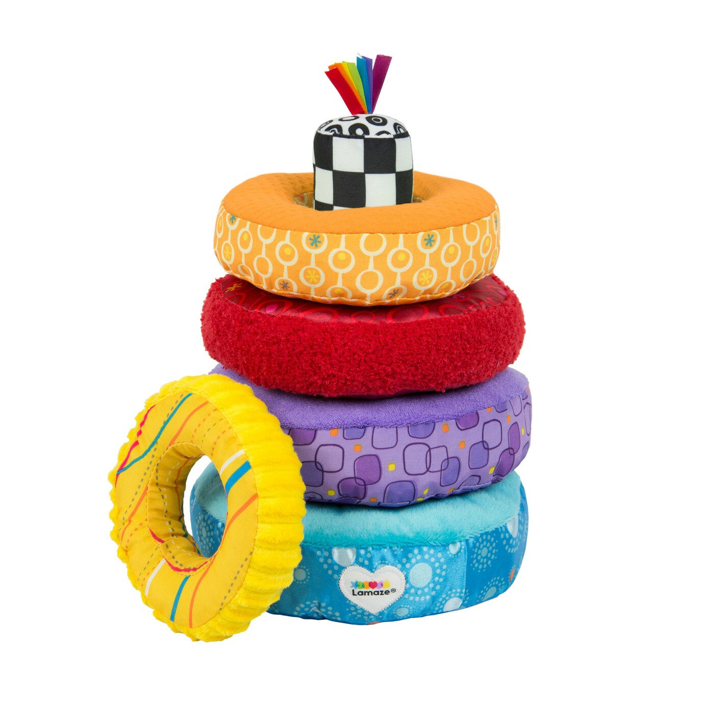 Lamaze Rainbow Stacking Rings Developmental Toy £17.00 @ Argos