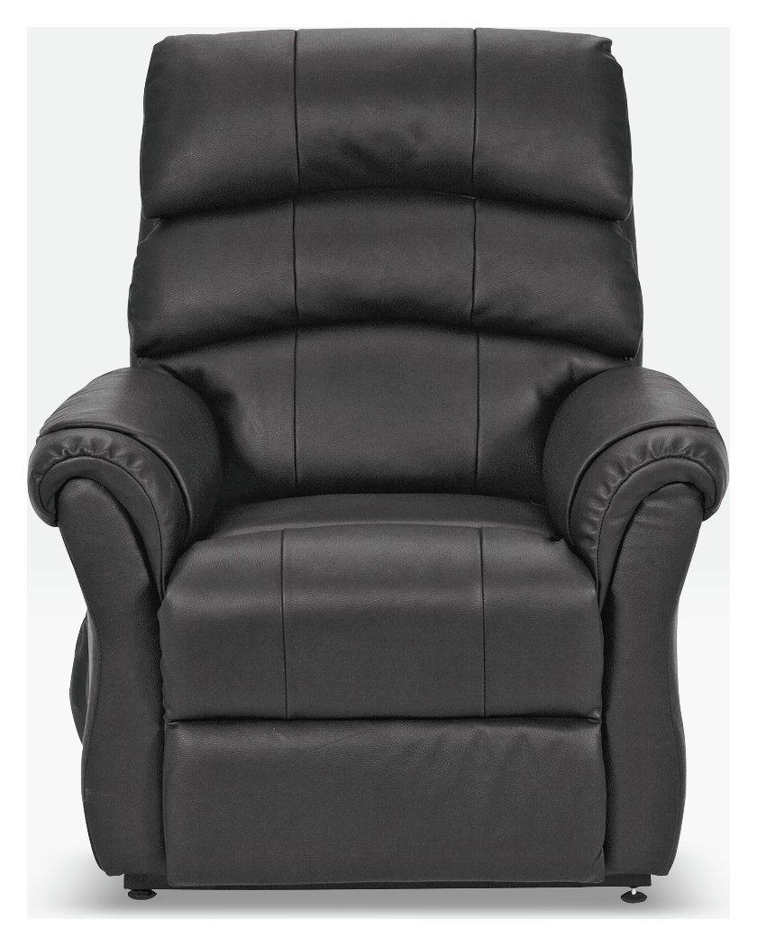 Argos Home Warwick Leather Power Recliner Chair – Black £500.00 @ Argos
